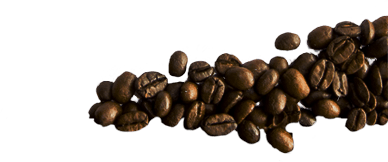 Fresh roasted coffee beans